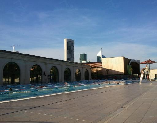 Palais des sports de l 39 le de puteaux for Centre claude robillard piscine horaire