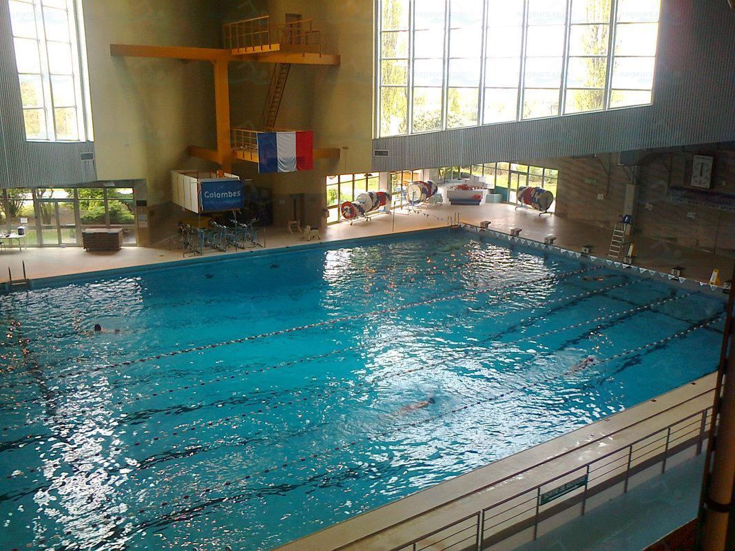Photos piscine olympique municipale de colombes - Revetement de piscine resine colombes ...