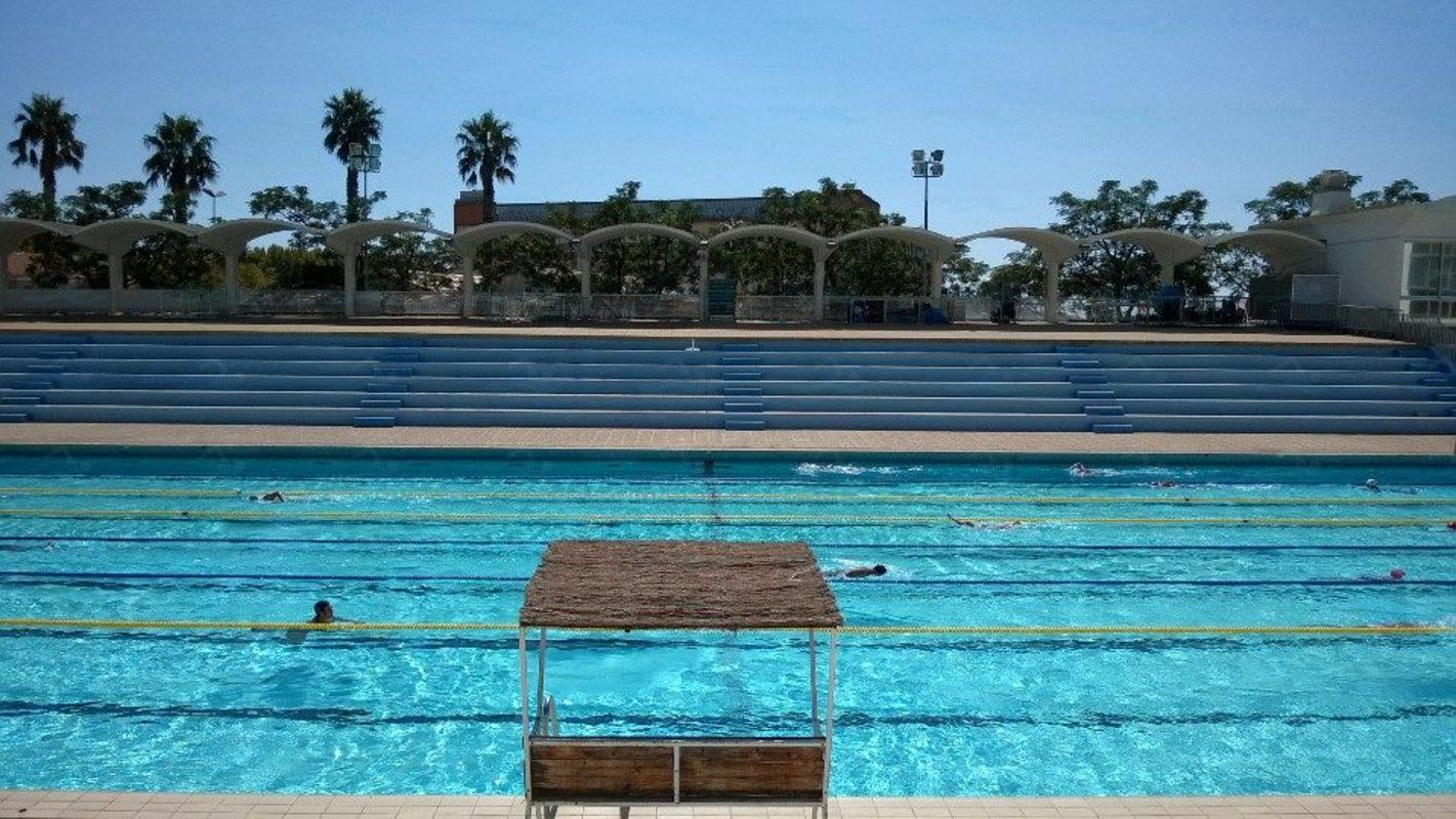 photos piscine port marchand nageurs